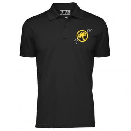 Mjolnir - Marvel Official Polo T-shirt