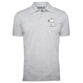 Snoopy (Pocket Logo) - Peanuts Official Polo T-shirt