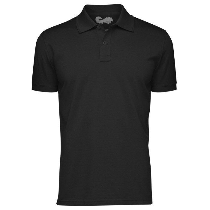 Redwolf Basics: Black - Polo T-shirt