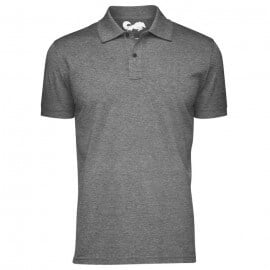 Redwolf Basics: Heather Black - Polo T-shirt