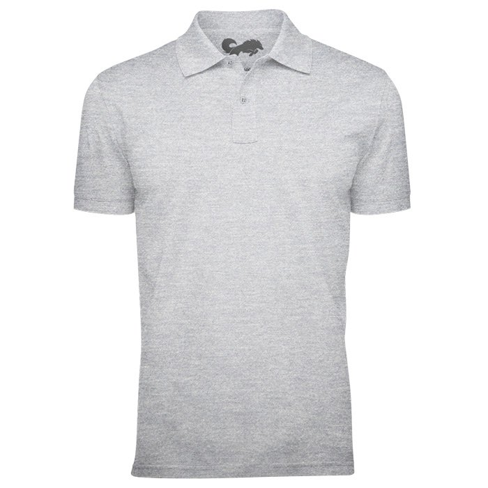 Redwolf Basics: Heather Grey - Polo T-shirt