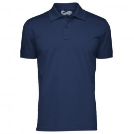 Redwolf Basics: Navy Blue - Polo T-shirt