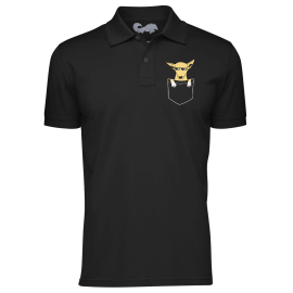Kanta Polo Shirt - Black [Pre-order - Ships on 17th October 2019]