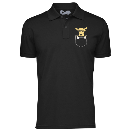 Kanta Polo Shirt - Black