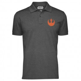 Rebellion Logo - Star Wars Official Polo T-shirt