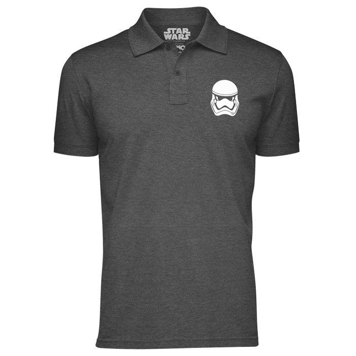 Storm Trooper Logo - Star Wars Official Polo T-shirt