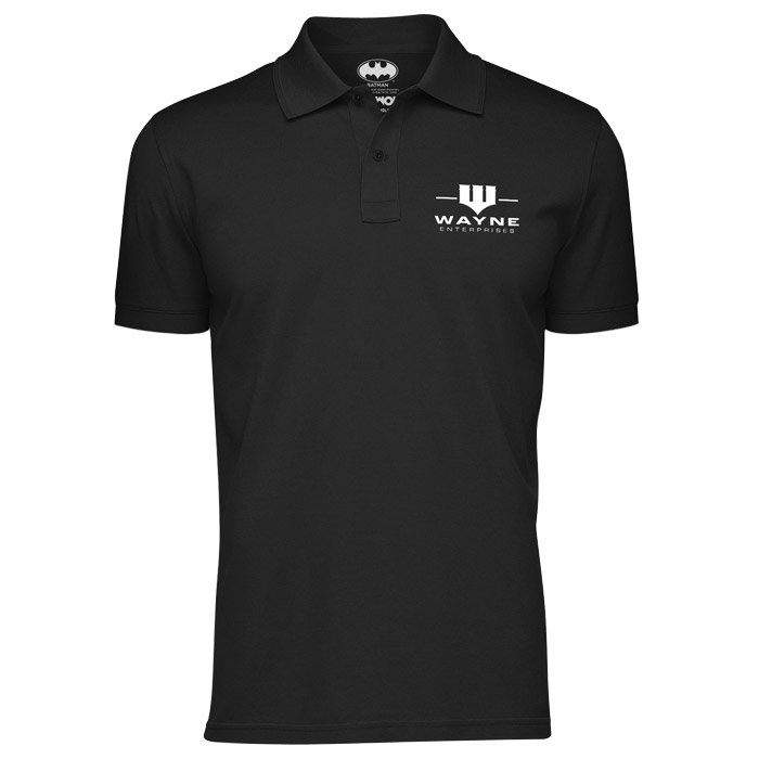 Wayne Enterprises: Logo - Batman Official Polo Shirt
