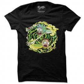 Portal Travel - Rick And Morty Official T-shirt