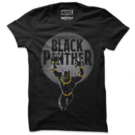 Black Panther: Pounce - Marvel Official T-shirt