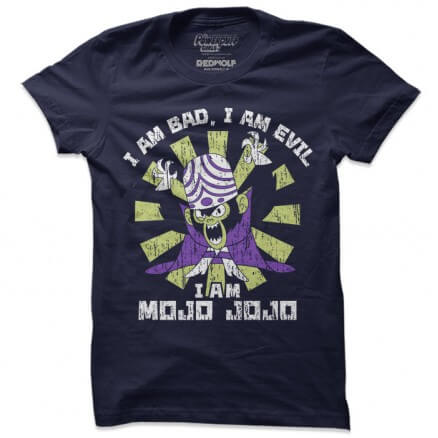 I Am Mojo Jojo - The Powerpuff Girls Official T-shirt
