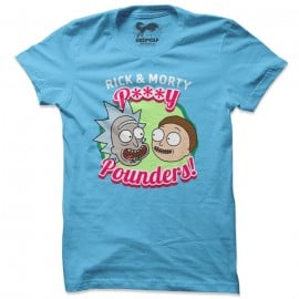 P***y Pounders - Rick And Morty Official T-shirt
