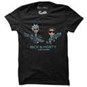 Alien Hunters - Rick And Morty Official T-shirt