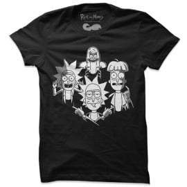 Bohemian Ricksody - Rick And Morty Official T-shirt