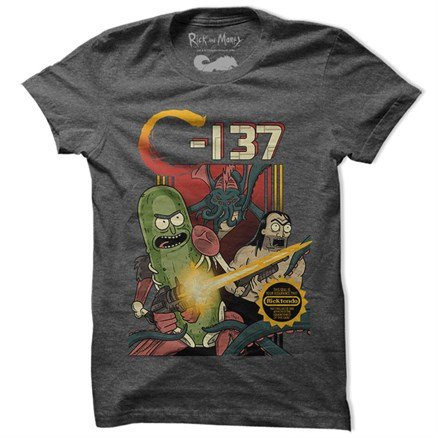 C-137 - Rick And Morty Official T-shirt