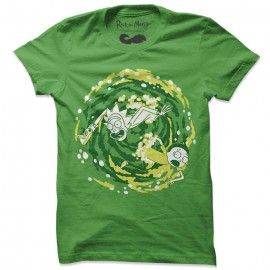 Coming Through - Rick And Morty Official T-shirt