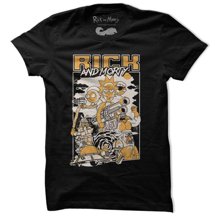 Film Poster - Rick And Morty Official T-shirt
