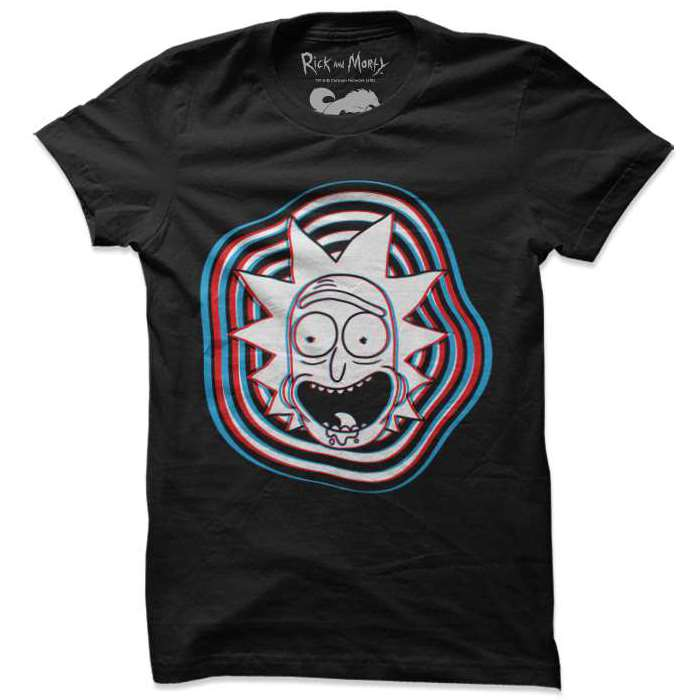 Glitch - Rick And Morty Official T-shirt