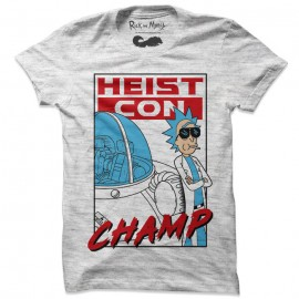Heist Con Champ - Rick And Morty Official T-shirt