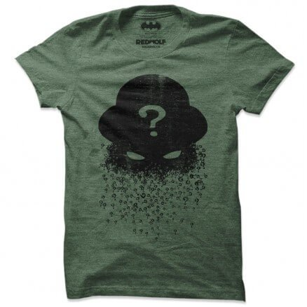 Riddler Silhouette - Batman Official T-shirt