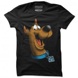Scooby Face - Scooby Doo Official T-shirt
