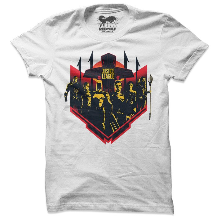 Serving Justice - Justice League Official T-shirt