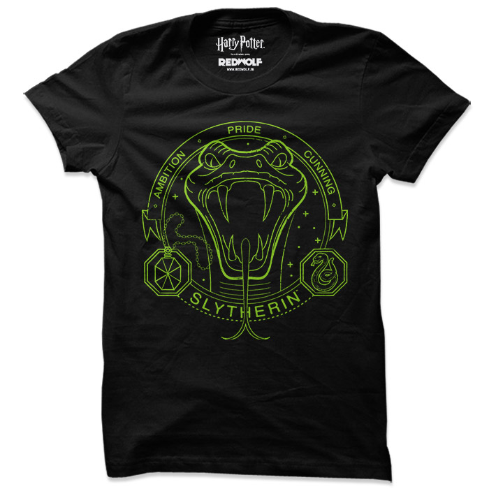 Slytherin Artifacts - Harry Potter Official T-shirt