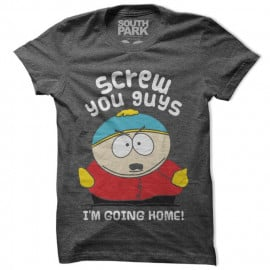 Screw You Guys, I'm Going Home  - South Park Official T-shirt