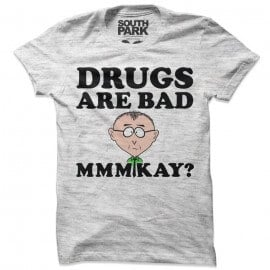 Drugs Are Bad - South Park Official T-shirt