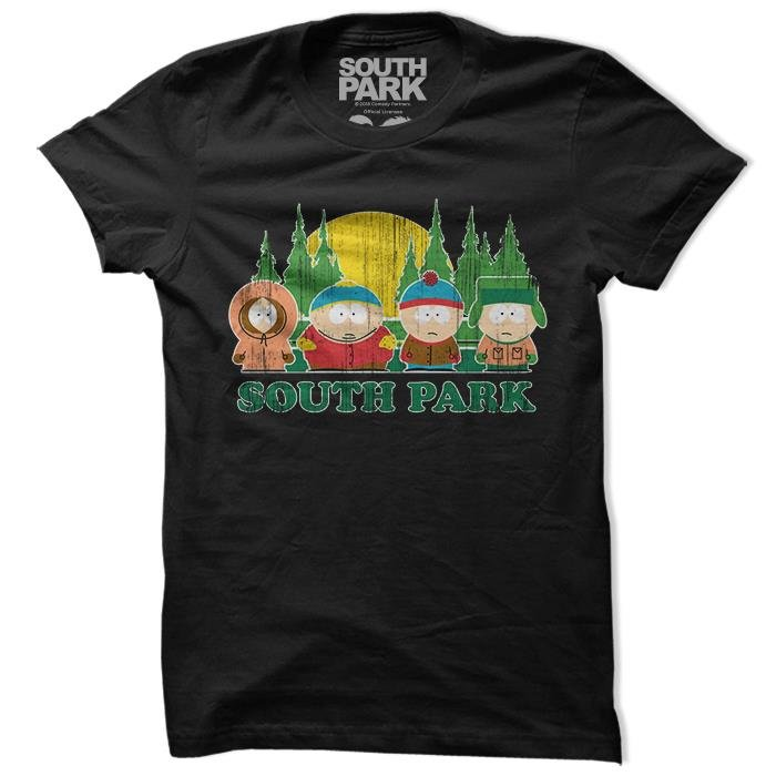 Retro Squad - South Park Official T-shirt