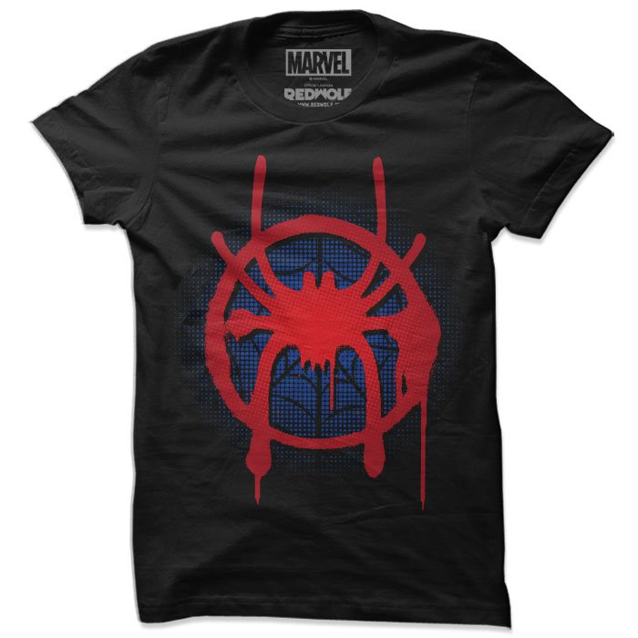 Spider-Verse: Miles Morales Logo - Marvel Official T-shirt