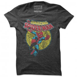 Spider-Man Vintage - Marvel Official T-shirt