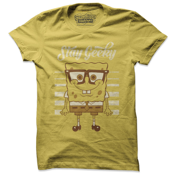 Stay Geeky  - SpongeBob SquarePants Official T-shirt