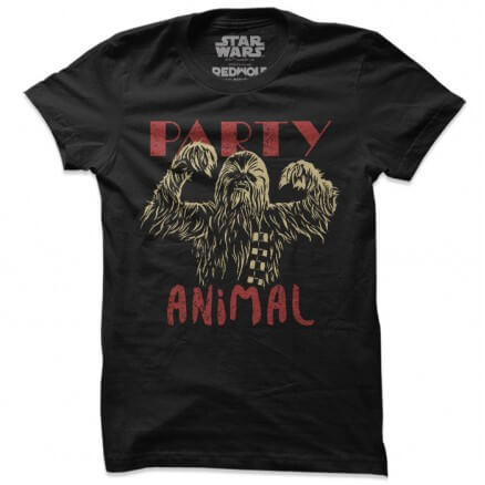 Chewie: Party Animal - Star Wars Official T-shirt