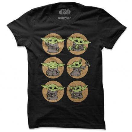 A Day In The Life Of The Child - Star Wars Official T-shirt