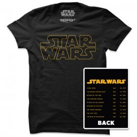 Star Wars Logo - Star Wars Official T-shirt