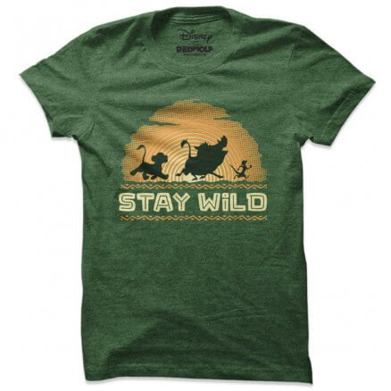 Stay Wild - Disney Official T-shirt