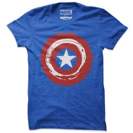 Super Soldier Shield - Marvel Official T-shirt