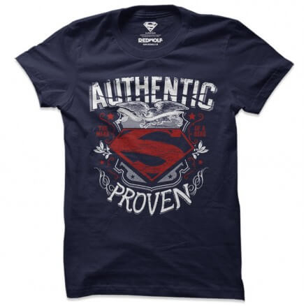 Superman: Authentic - Superman Official T-shirt