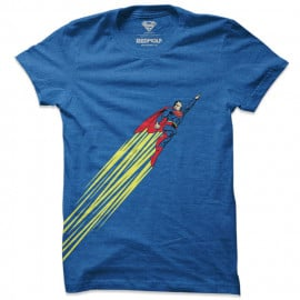 Superman: Side Burst - Superman Official T-shirt
