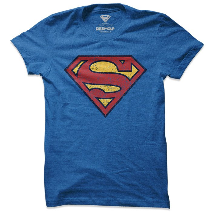 Superman: Vintage Logo - Superman Official T-shirt