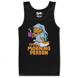 Morning Person - Garfield Official Tank Top