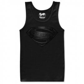 Superman: The Black Suit - Justice League Official Tank Top