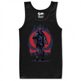 Alpha And Omega - Justice League Official Tank Top