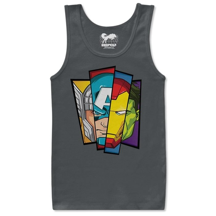 The First Avengers - Marvel Official Tank Top