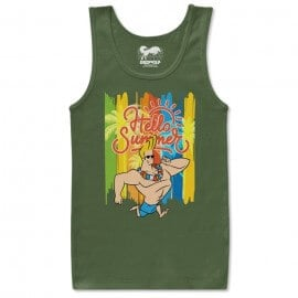 Hello Summer - Johnny Bravo Official Tank Top