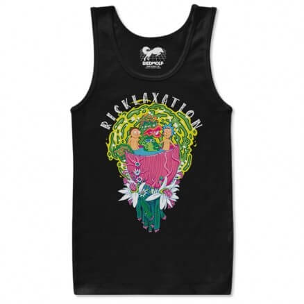 Ricklaxation - Rick And Morty Official Tank Top