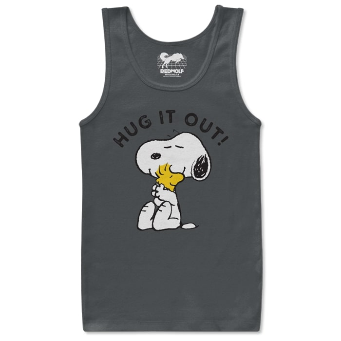 Hug It Out - Peanuts Official Tank Top
