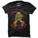 Keep Calm And Eat Pizza - TMNT Official T-shirt