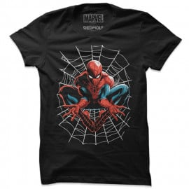 The Amazing Web Slinger - Marvel Official T-shirt