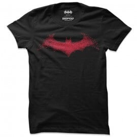 The Dark Knight: Bats Logo - Batman Official T-shirt